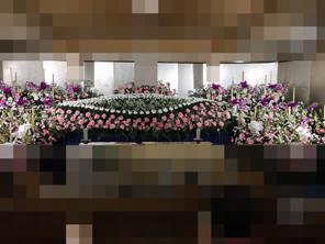 生花祭壇 ピンク