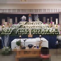 雪山 生花祭壇 葬儀