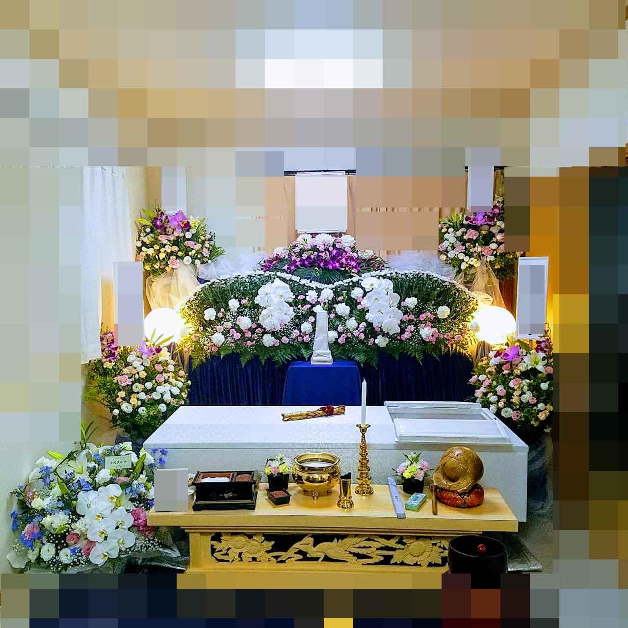 横浜市,自宅,家族葬,狭い家