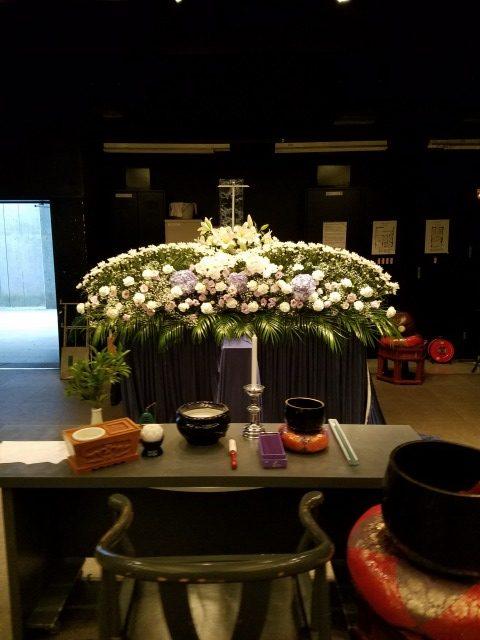 横浜市北部斎場,家族葬